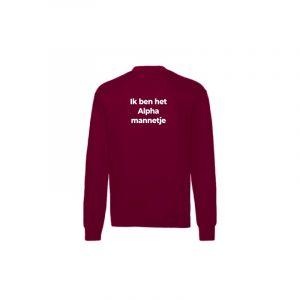 sweater-alphamannetje-back-cardinalred